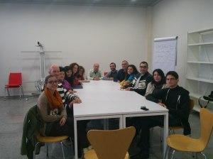 Alumnos de la edición de abril del taller literario exprés